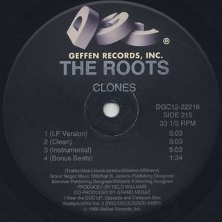 Roots / Clones & Section label