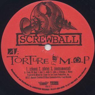 Screwball / Torture label