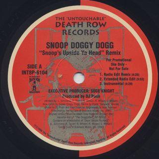 Snoop Doggy Dogg / Snoop's Upside Ya Head (Remix) back