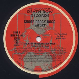 Snoop Doggy Dogg / Snoop's Upside Ya Head (Remix) label