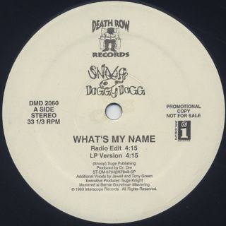 Snoop Doggy Dogg / What's My Name?