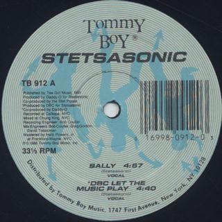 Stetsasonic / Sally label