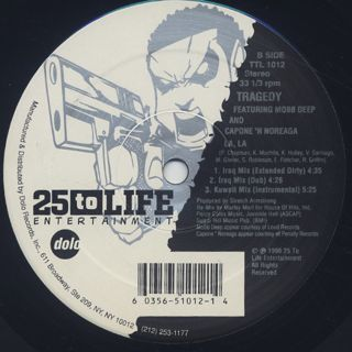 Tragedy / LA, LA (Marley Marl Remixes) back