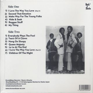 Chosen Few / I Love The Way You Love (LP) back