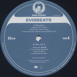 Evisbeats / People (2LP) label