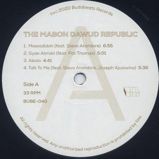 Mabon Dawud Republic / S.T. label