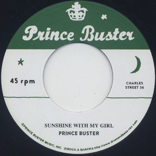 Prince Buster / Sunshine With My Girl