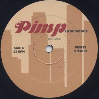 Roc Marciano / Pimpstrumentals label