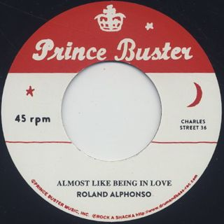 Roland Alphonso / Almost Like Being In Love