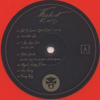 Thundercat / It Is What It Is (Red Vinyl) label