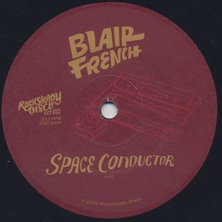Blair French / Genes c/w Space Conductor label
