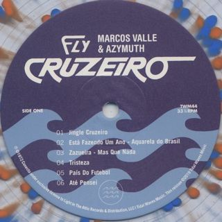 Brazil By Music(Marcos Valle, Azymuth) / Fly Cruzeiro label
