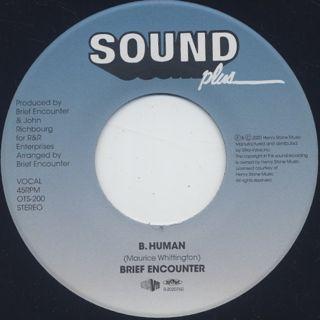 Brief Encounter / Total Satisfaction c/w Human label