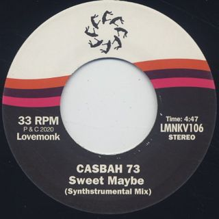 Casbah 73 / Sweet Maybe back