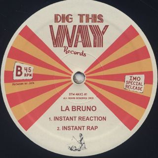 I.S.C.A.C. Band / Igbo Nwe Egwu c/w La Bruno / Instant Reaction label