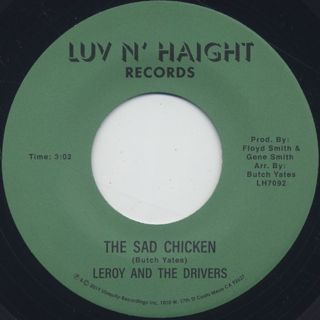 Leroy And The Drivers / The Sad Chicken back