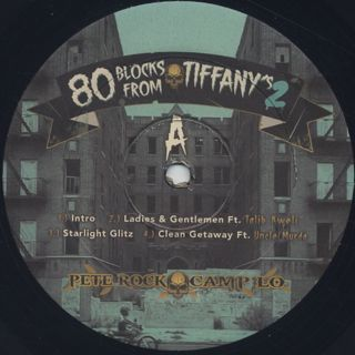 Pete Rock & Camp Lo / 80 Blocks From Tiffany's Pt. II label