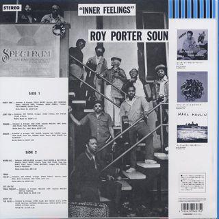 Roy Porter Sound Machine / Inner Feelings back