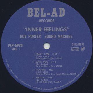 Roy Porter Sound Machine / Inner Feelings label