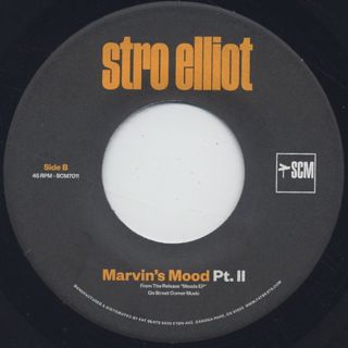 Stro Elliot / Marvin's Mood Pt.1 & 2 label