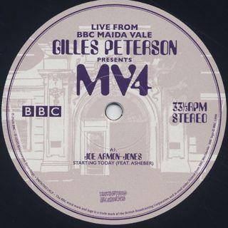 V.A. / Gilles Peterson Presents MV4 label