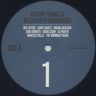 Adrian Younge & Ali Shaheed Muhammad / Jazz Is Dead 001 label