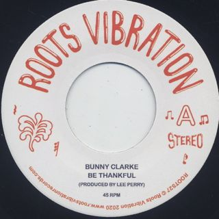 Bunny Clarke / Be Thankful back