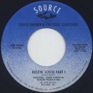 Chuck Brown & The Soul Searchers / Bustin' Loose (7