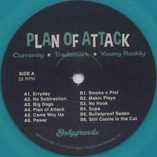 Curren$y, Trademark Da Skydiver, Young Roddy / Plan Of Attack label