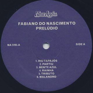 Fabiano Nascimento / Preludio label