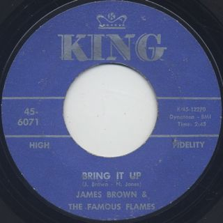 James Brown & The Famous Flames / Bring It Up c/w Nobody Knows ②