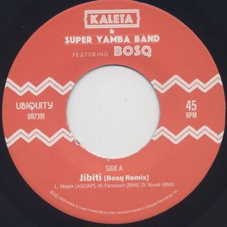 Kaleta & Super Yamba Band / Jibiti (Bosq Remix) label