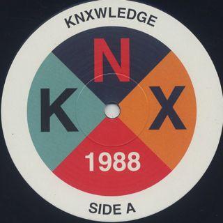 Knxwledge / 1988 label