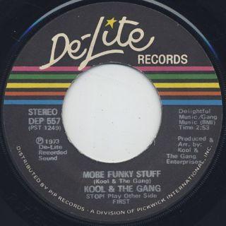 Kool & The Gang / Funky Stuff back