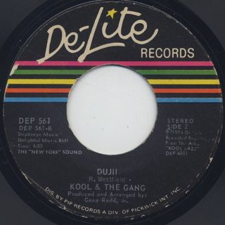 Kool and The Gang / Hollywood Swinging c/w Dujii back