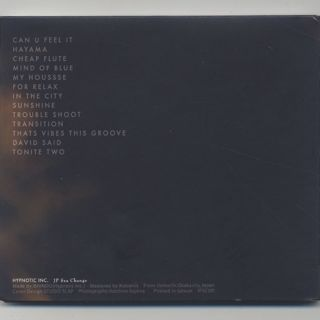 Shindo / Time & Place (CD) back