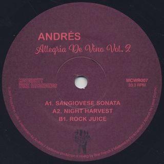 Andrés / Allegria de Vino Vol. 2