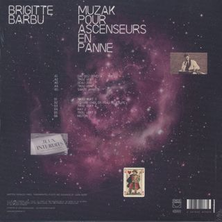 Brigitte Barbu / Muzak Pour Ascenseurs En Panne back