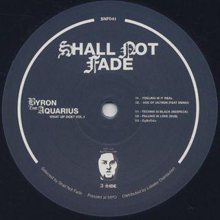 Byron The Aquarius / What Up Doe? Vol.1 back