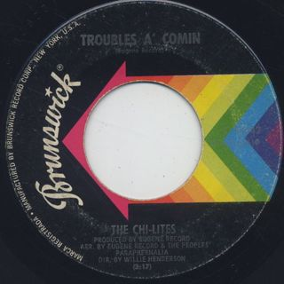Chi-Lites / Are You My Woman? back
