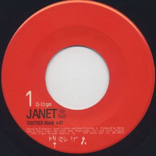 Janet Jackson / Together Again c/w Got 'Til It's Gone (Ummah Jay Dee's Revenge Mix)
