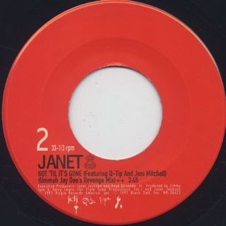 Janet Jackson / Together Again c/w Got 'Til It's Gone (Ummah Jay Dee's Revenge Mix) back