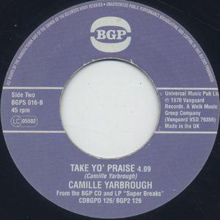 Jean Jacques Perrey / EVA c/w Camille Yarbrough / Take Yo' Praise back