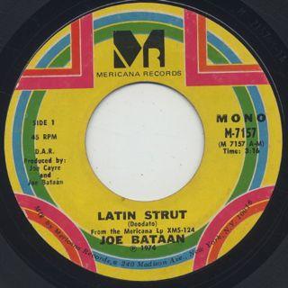 Joe Bataan / Latin Strut (45)