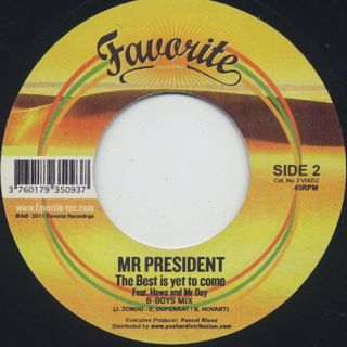 Mr President / The Best Is Yet To Come back