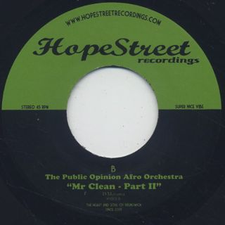 Public Opinion Afro Orchestra / Mr Clean Part 1 & 2 back