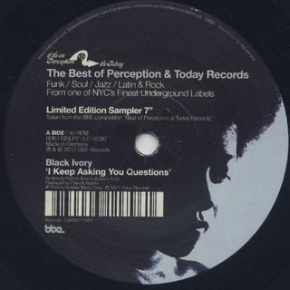 V.A. / The Best Of Perception & Today Records
