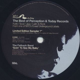 V.A. / The Best Of Perception & Today Records back