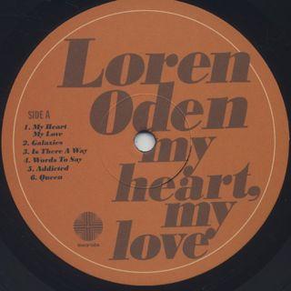 Adrian Younge presents Loren Oden / My Heart My Love label