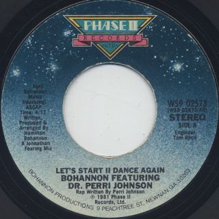 Bohannon / Let's Start II Dance Again (7